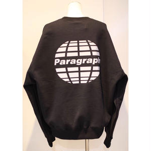 PARAGRAPH REFRACTOR LOGO SWEAT BLACK