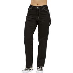 DICKIES GIRL CARPENTER PANTS BLACK