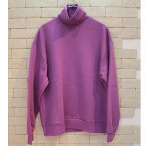 TURTLE NECK SWEAT-SR- PPL