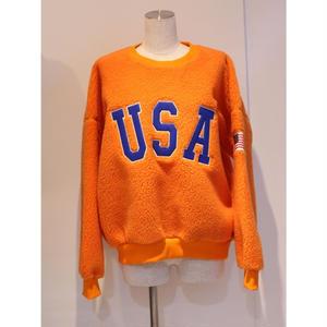 SHERPA USA CREW NECK SWEAT