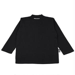 BASIC COTTON BASIC MOCK NECK BLACK