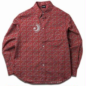 MIX  REFLECTIVE PAISLEY SHIRTS RED