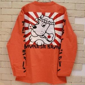 GALFY JAPAN SLEEVE LOGO L/S ORANGE