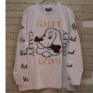 GALFY SLEEVE LOGO L/S WHITE