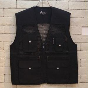 FISHING VEST BLACK -C-