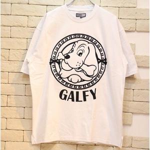 GALFY S/S EMBLEM LOGO TEE WHITE