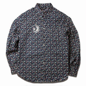 MIX  REFLECTIVE PAISLEY SHIRTS BLUE