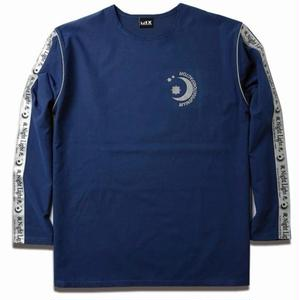MIX LINE REFLECTIVE TEE BLUE