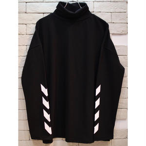 L/S TURTLE NECK >>>> TEE BLACK