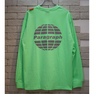 PARAGRAPH CLASSIC REFRECTOR LOGO TEE LIME