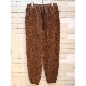 LEOPARD E-Z PANTS BROWN