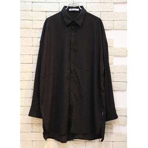 L/S  OVERSIZED SHIRTS BLACK