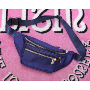 NYLON BODY BAG NAVY