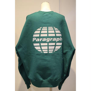PARAGRAPH REFRACTOR LOGO SWEAT GREEN