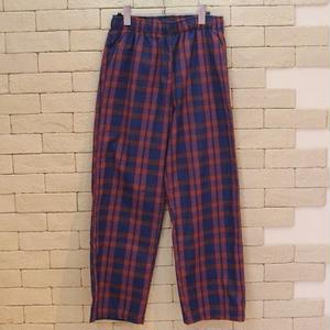 TARTAN CHECK E-Z PANTS -SR- RED