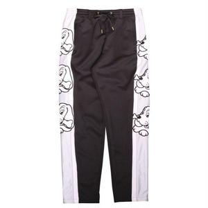 GALFY SIDELINE PATCH TRUCK PANTS BLACK