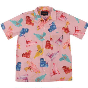 APOC WATERGUN HAWAIIAN SHIRTS  PINK