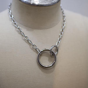 CHAIN NECKLACE RING