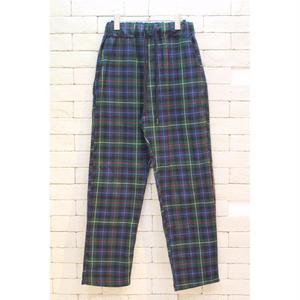 CHECK EASY PANTS -NN- GREEN