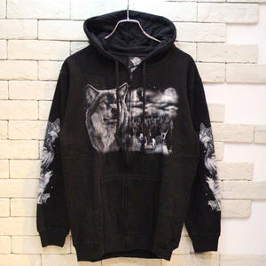 ANIMAL ZIP PARKA  ウルフ