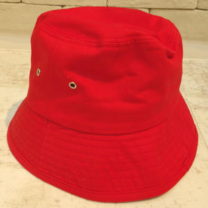 BIG BUCKET HAT  RED