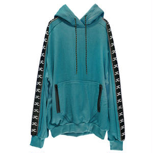 M-P-Q  KAI WASHED COTTON HOOD SWEATER MINT