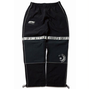 MIX REFLECTIVE WARM-UP PANTS BLACK