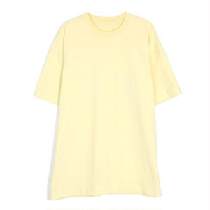 13MONTHTWO FACE PRINTING T-SHIRT YELLOW