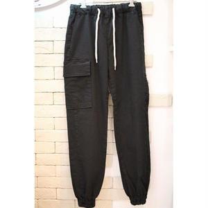 CARGO JOGGER PANTS BLACK