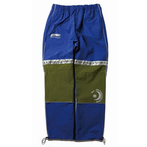 MIX REFLECTIVE WARM-UP PANTS BLUE