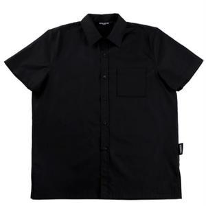 BASIC COTTON S/S SHIRTS BLACK
