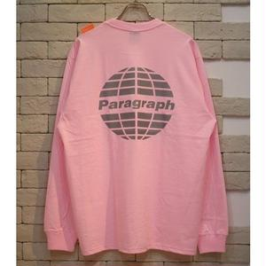 PARAGRAPH CLASSIC REFRECTOR LOGO TEE LT PINK