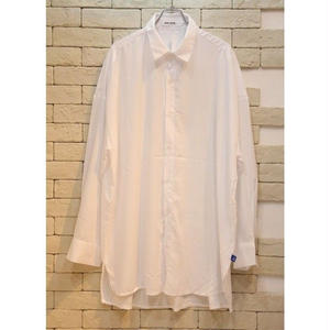 L/S  OVERSIZED SHIRTS WHITE