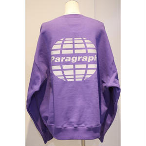PARAGRAPH REFRACTOR LOGO SWEAT PURPLE