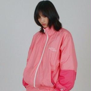 A PIECE OF CAKE WARM-UP JACKET PINK