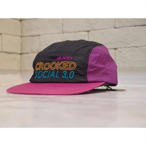 A PIECE OF CAKE ACS3.0 CAMP CAP BLACK