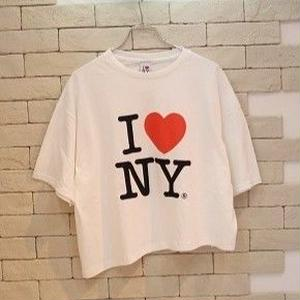 l♥︎NY ORIGINAL REMAKE TEE WHITE