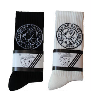 GALFY SOCKS BLACK/WHITE