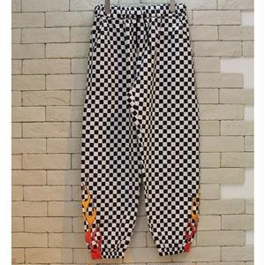 FIRE CHECKERBOARD PANTS