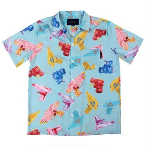 APOC WATERGUN HAWAIIAN SHIRTS BLUE
