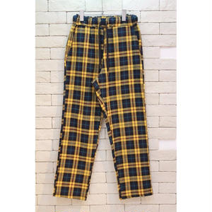 CHECK EASY PANTS -NN- YELLOW