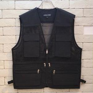 FISHING VEST BLACK -B-