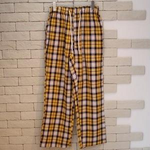 CHECK EASY PANTS -OR- YELLOW