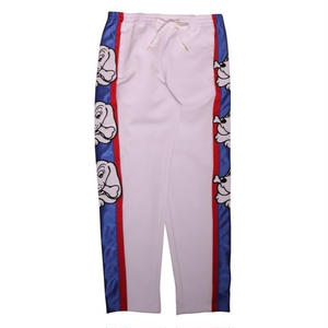 GALFY SIDELINE PATCH TRUCK PANTS WHITE