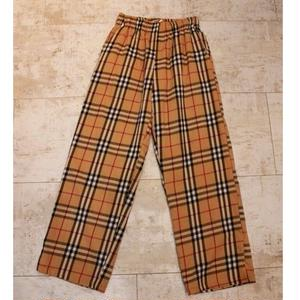 B CHECK EASY PANTS -SR-