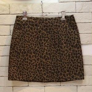COTTON SKIRT LEOPARD