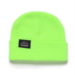 13MONTH VIVID WATCH CAP LIME