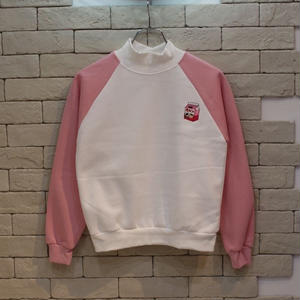 PEACH CREW NECK SWEAT