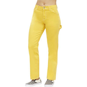 DICKIES GIRL CARPENTER PANTSGOLD