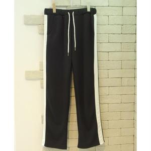 SIDE LINE TRAINING PANTS BLACK×WHITE
